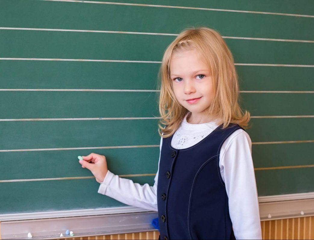 elementary school girl
